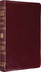 ESV Classic Reference Bible, Genuine Leather, Burgundy, Black Letter